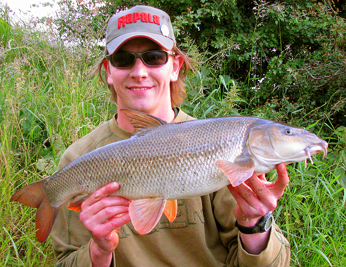 Article about Summer Barbel Fishing, by Andrew Kennedy