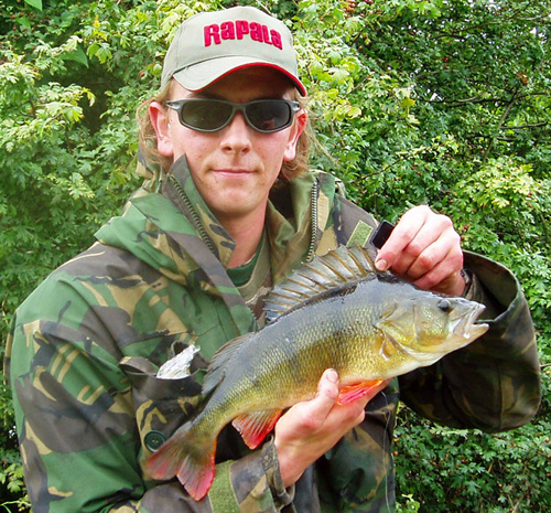 Andrew Kennedy has a Perch Fishing session to remember