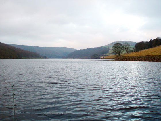 Fishing for Pike at Ladybower Reservoir